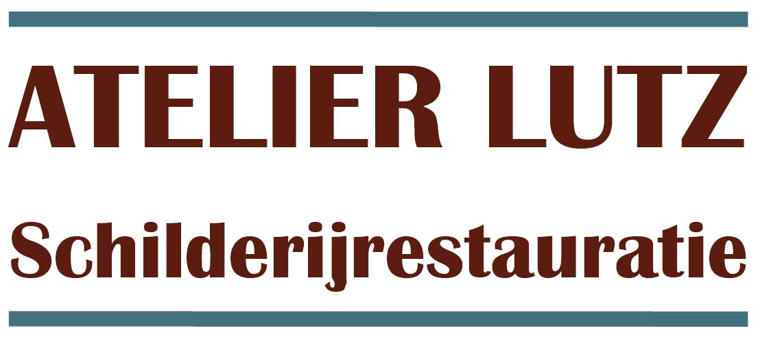 Logo Atelier Lutz, schilderijrestauratie, Middelburg Zeeland restauratie en conservering schilderij